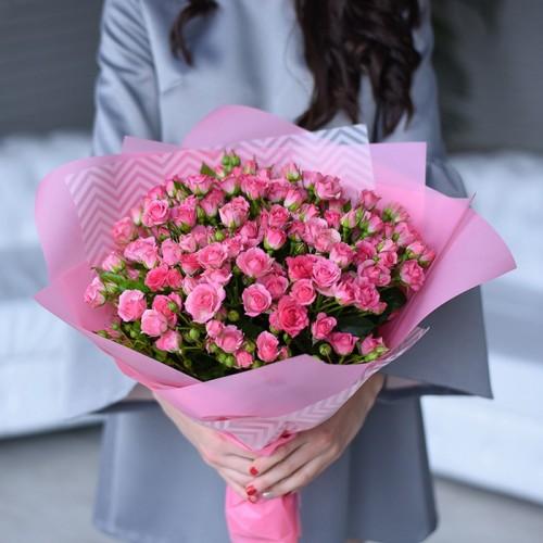 21 кустовая роза Грация