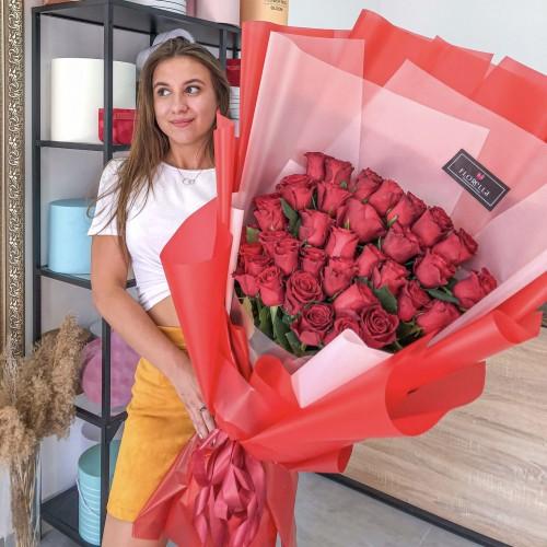 35 роз Эквадор