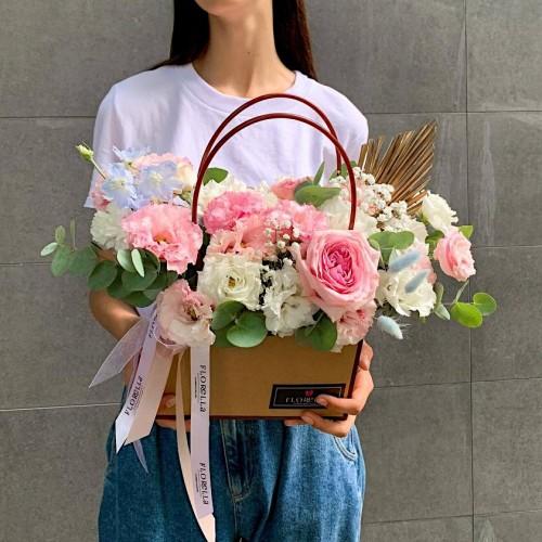 Цветочная сумочка #4