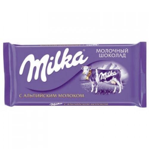 """Шоколадка """"Милка"""""""