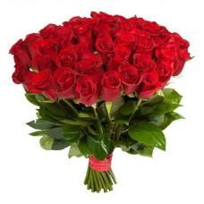 Импортные красные розы поштучно