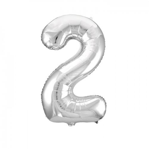 "Воздушный шар ""Цифра  2"""