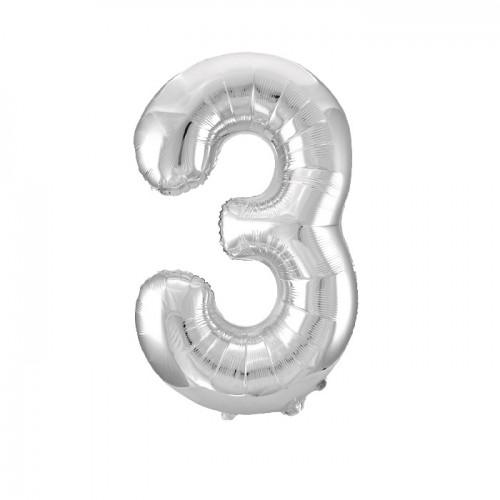"Воздушный шар ""Цифра 3"""