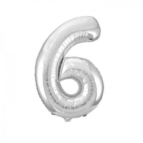 "Воздушный шар  ""Цифра 6"""